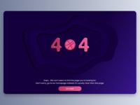 404 Web Page Error