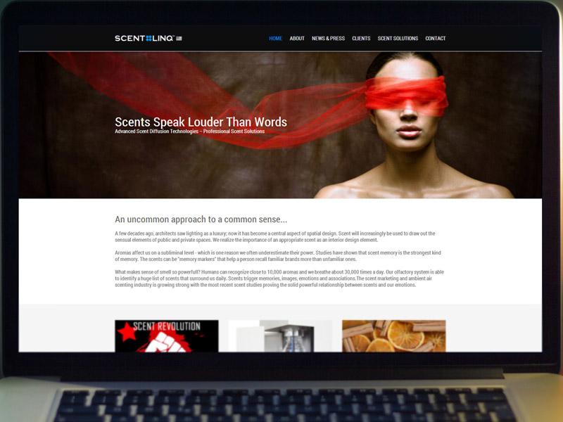 Scentlinq website