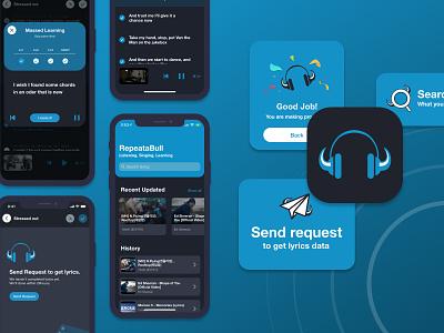 Music Player App Design design app ux