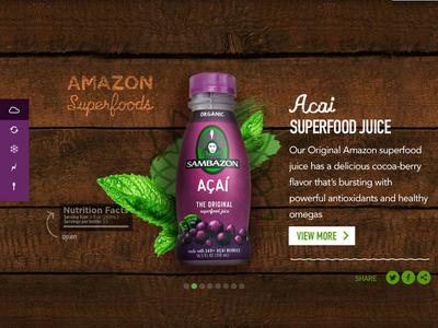 Sambazon sambazon organic purple ui web desktop product