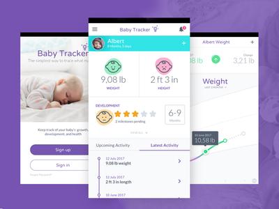 Babytracker chart mobile app tracker baby