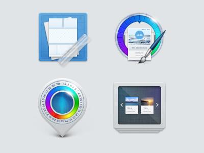 Breezi Icons icon theme layout apps dots diseño diseno