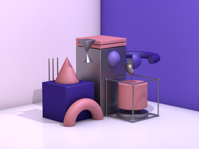 Abstract C4D abstract 3d abstract 3d art 3d minimal creative concept c4d design