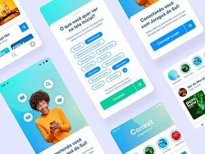 Conext App Ui modalize modal design minimal mobile ui