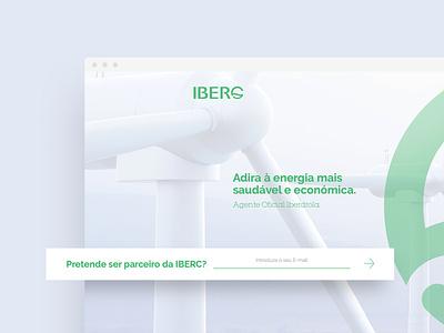 IBERC | Webdesign card design cards responsive design responsive friendly illustration homepage design homepage home clean website webdesign web ux ui perto design