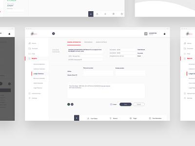 Debt Collection | Ui & Ux layers multipurpose perto design ui design ui  ux software development software design software multitasking tasking tasks clean webdesign web ux ui perto design