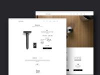 Tatara Razors | Webdesign