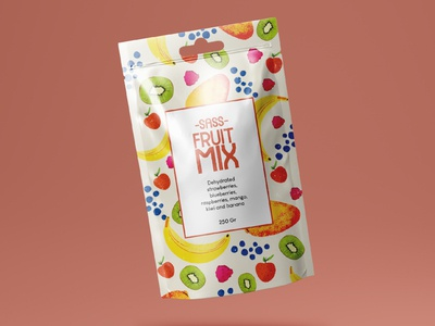 Fruit mix package
