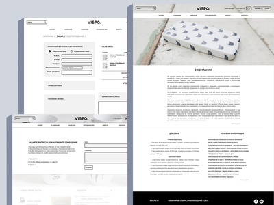 Vispo Website Layouts
