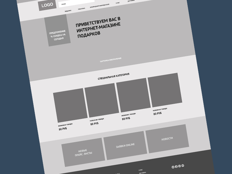 Thematic Online Retail Website Wireframe wireframe retail website shop online ux ai ui design user experience simple