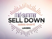 Mid-Summer Sale Down