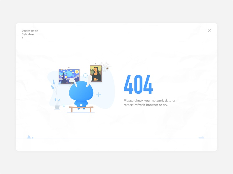 404 Page Inspiration website illustration ui web design