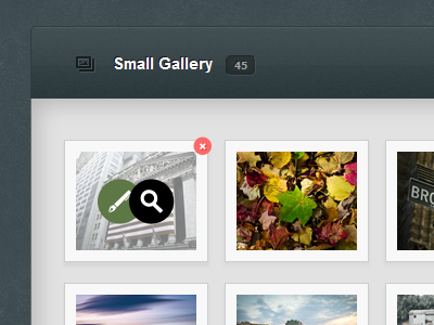 Admin Template Gallery