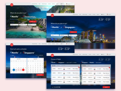 Air Asia - Booking Journey UX Concept