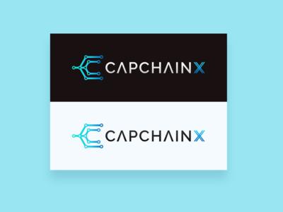 CapchainX - Logo Design