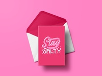 Stay Salty Card