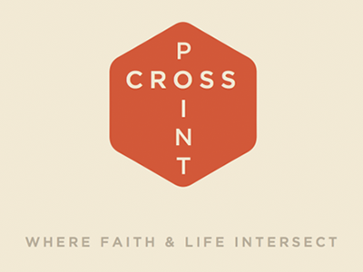 CROSS POINT logo church branding