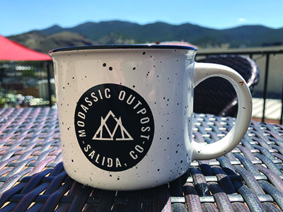 MODassic Outpost mug colorado camping outdoors outpost modassic mug