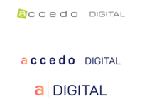 Proposed Logo Redesign - Accedo Digital