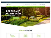 Homepage Redesign - Ant Landscaping