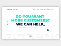 Homepage Redesign V2 - Accedo Digital