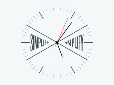 Simplify Amplify Clock