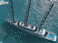 BHAVANA Supersail Yacht Concept
