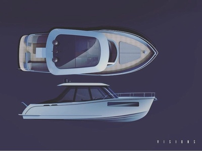 Vision 11m Speed Boat