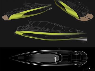 17M Power Cruiser Concept Pravega