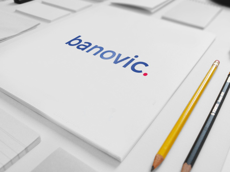 Marko Banovic * NEW LOGO * - banovic. banovic. simple portfolio site modern popular presentation new logo marko banovic