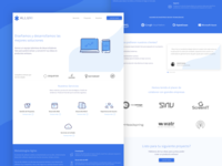Alluxi Website website development design ¨landing page¨ ux ui