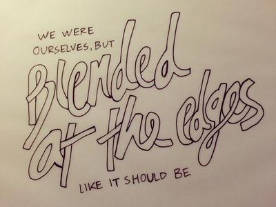 Day 5 - personal choice lyrics (30 Day Type Challenge)