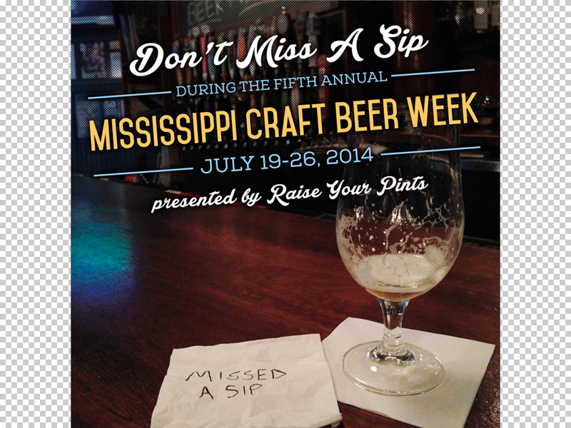 mississippi craft beer week 2014 by lauren smith bynum dribbble