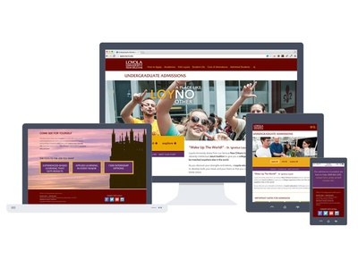 Loyola University Admissions Redesign