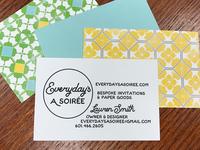 Everyday's A Soirée business card