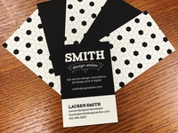SMITH design atelier business cards