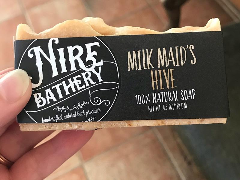 Nire Bathery Soap Sleeves al southern made