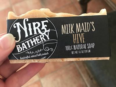 Nire Bathery Soap Sleeves