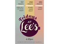 Fridays at Lee's