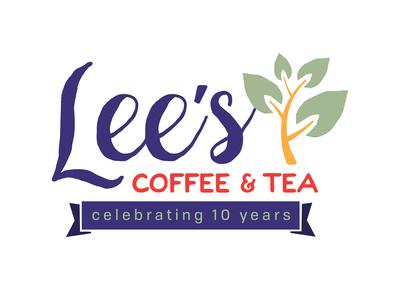 Lee's 10 Year Anniversary Logo