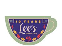 Lees10years badge