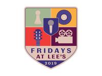 Fridays at Lee's 2019 Logo