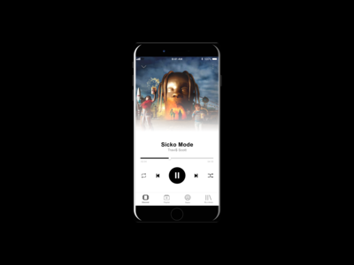 Music Player Page