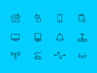 Smarthome Security Icons