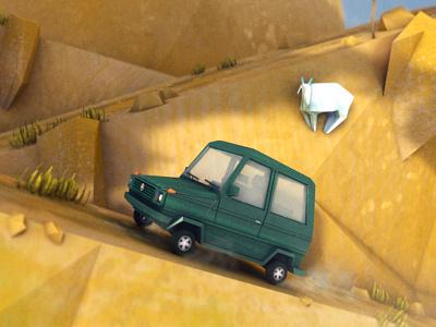 G230 car mercedes g230 4x4 off road dirclumsy 3d c4d peter nagy