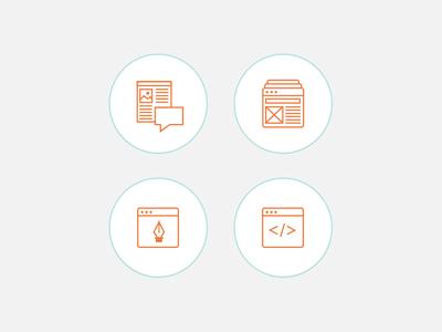 Skills Icons icons portfolio skills graphic design illustration