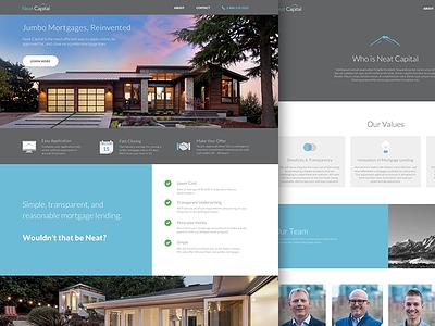Neat Capital Homepage