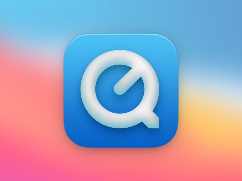 Big Sur Quicktime Concept mac big sur replacement icon