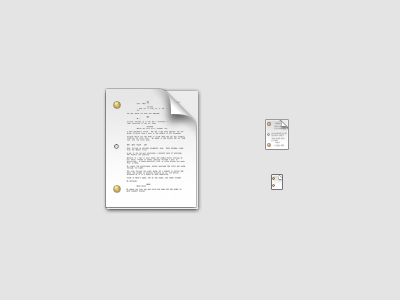 Final Draft Document icon replacement wip movie script screenplay final draft