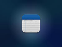 Simplenote iOS Icon